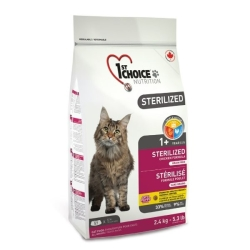 1Choice sterilized kattefoder 5 kg