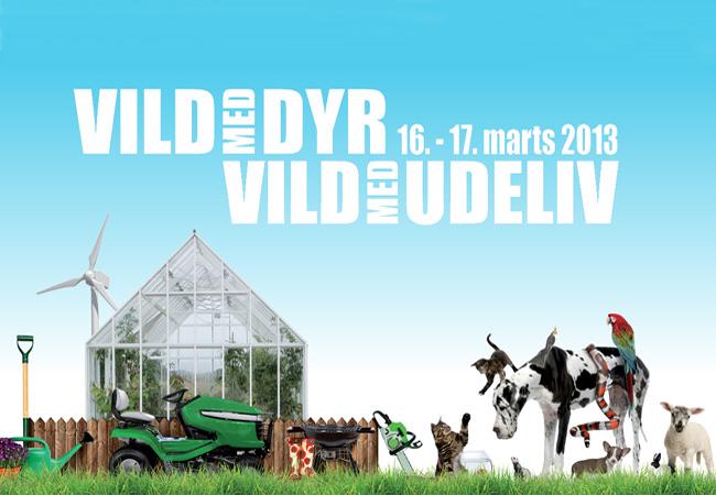 Besøg Vild med Dyr 2013 messen i Fredericia i weekenden den 16-17 marts